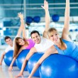 Gym working out - Foto Stock