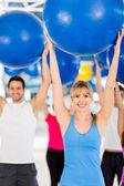 Pilates instruktor — Zdjęcie stockowe