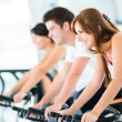 Group of at gym — Stock Photo #12007245