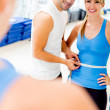 Woman at the gym — Stock Photo #12046220