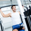 Fit man at the gym — Stock Photo