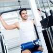 Fit man at the gym — Stock Photo #12046237