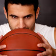 Male basketball player — Stock Photo