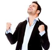Empresário de sucesso — Foto Stock