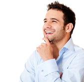 Happy business man — Stock Photo