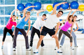 At the gym — Stockfoto