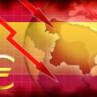 Spain crisis background information — Stock Photo