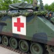 Armoured ambulance — Stock Photo