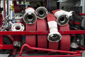 Fire hoses — Stock Photo