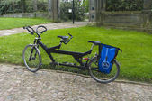 Tandem bicycle — Stock Photo