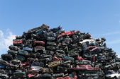 Relitti di auto — Foto Stock