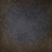 Texture de cuir noir sale vieux, servir de fond grunge — Photo