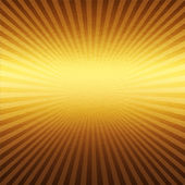 Gold metal background with beams of light — Stock Photo