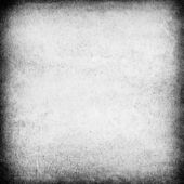 White wall grunge background with dark frame vignette — Stock Photo