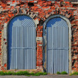 ������, ������: Two doors and bricklaying