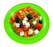 Grekisk sallad. — Stockfoto