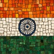National flag of India — Stock Photo