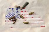 Ammerican municiones — Foto de Stock