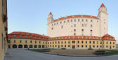 Bratislava castle panorama — Stock Photo
