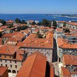 Zadar roofs — Stock Photo