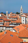 Roofs of Zadar — Stock Photo