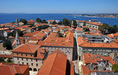 Zadar roofs — Stock Photo