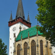 Spissky stvrtok church - Stock Photo