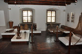 Red Cloister interior — Stock Photo