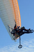 Motor paragliding — Stock Photo