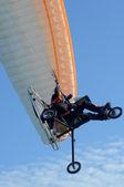 Motor paragliding — Stock Photo