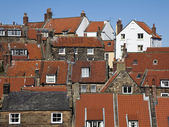 Fishermens cottages — Stock Photo