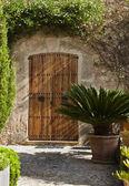 Rustic door, Majorca — Stock Photo