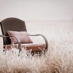 silla vintage Nevado — Foto de Stock