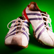 Italian Tennis Shoes - Stock Photo