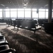 Airport Terminal Seating — Stock Photo