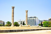 Temple of Olympian Zeus in Athens, Greece — Foto de Stock