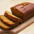 Stock Photo: Pumpkin Bread