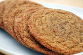 Molasses Sugar Cookies — Stock Photo