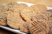 Peanut Butter and Sugar Cookies — Stock Photo