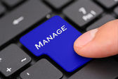 Manage — Stock Photo