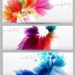 Abstract vector background with floral elements . — Stock Vector #11162468