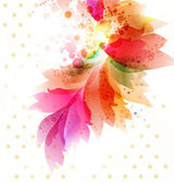 Floral abstract background. — Stock Vector