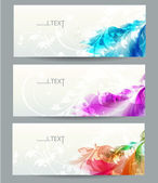 Abstract vector background with floral elements . — Stock Vector