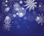 Vector Christmas background — Stock Vector