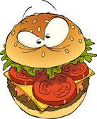 Hambúrguer — Vetorial Stock