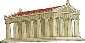 Parthenon — Stock Vector