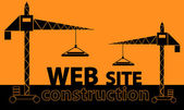 Web site construction — Stock Vector