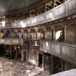 Royalty-Free Stock Photo: Ruins of the theatre building hdr