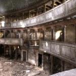 ruines du théâtre bâtiment hdr — Photo