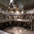 Mysterious ruins of the theater hdr — Stock Photo